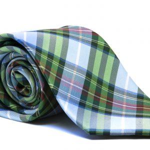 Corbata multicolor cuadros